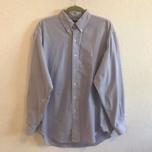 Ralph Lauren Blue Shirt Pink Pony Size Large